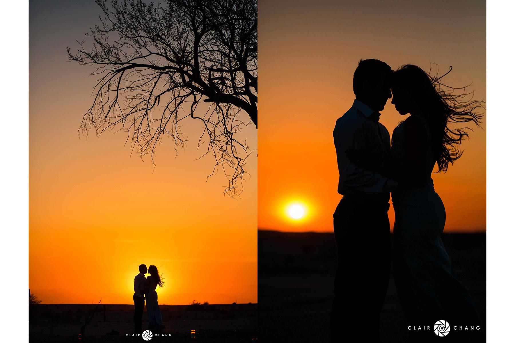 sunset 2pic